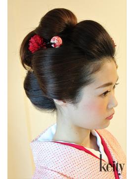 新日本髪【TELでお得】盛り髪・日本髪イベントset¥3000→¥2500