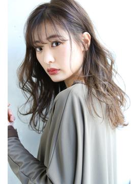【ROSE】シアベージュ/スモーキーカラー/ダブルバング