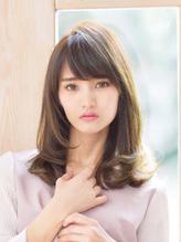 《Barretta/蒲田361》☆ワンサイドカール×フリンジセミディ☆ バレッタ.48