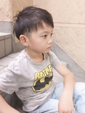キッズカット☆男の子ショートヘア☆