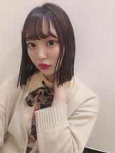 【novita】しょす担当★王道切りっぱなしボブ.56