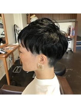 刈り上げ女子 20代 30代 40代 50代 髪質改善
