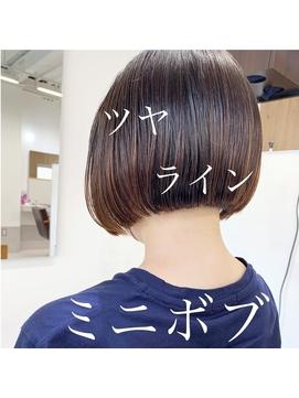 【NIKO】福岡天神ミニボブワンレングスボブ大人ボブ20代30代40代