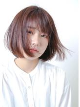 あごライン 簡単スタイリング 切りっぱなしボブ   モテ髪.40