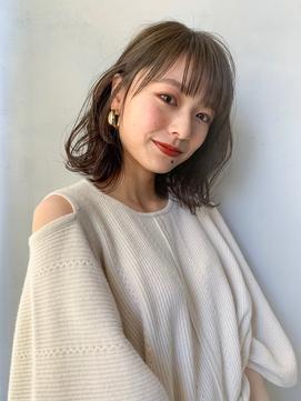 【Unami】結べるボブゆるふわパーマ 岸直美