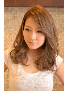 【hair's curare】大人かわいいセミディ