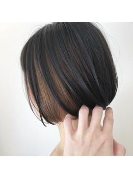 ミニボブ×インナーカラー_TREAT妙典