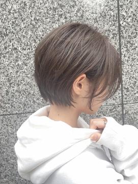 Lond島田敬之 ナチュラルショートボブ/毛先パーマ/黒髪