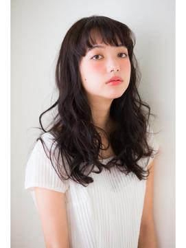 【aRietta】黒髪でのばしかけでも!簡単パーマ