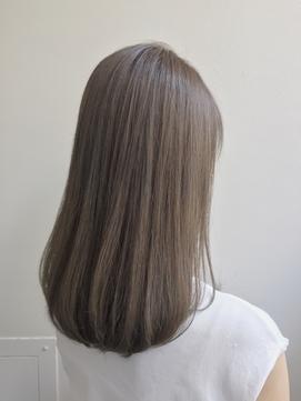 好感ピュア美肌ストレート[イルミナカラー][髪質改善][銀座]