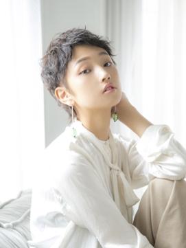 【Lond  charme 濱田麻佑】スタイリストショート