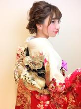 全国一位経験アリ☆振袖 袴 成人式 卒業式 ヘアアレンジ 卒業式.6