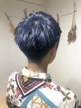 Le'a渋谷 染谷直樹【ブルーベリーショート】