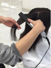 縮毛矯正専用のシャンプー,トリートメントを贅沢に使用するので、カラーやパーマを同時にしても傷まない!