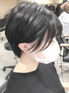 #noi_style 黒髪でも可愛い*コンパクトショート
