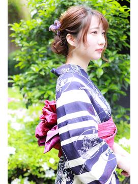 【caren by neolive 武蔵小杉】夏祭り☆もてかわ浴衣ヘア