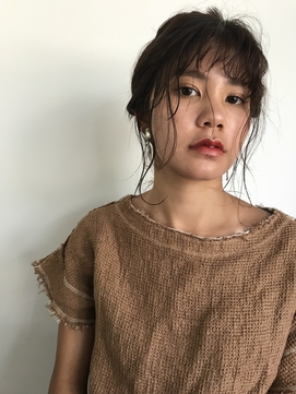久留米【NAVY】編みおろしセットのリラックスウェーブ
