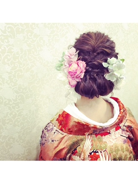 spring和装ヘア