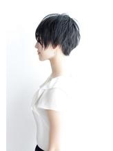 【Third】シンプルショート+ツーブロック .55