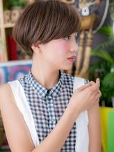 *+COVER HAIR+*…シンプル可愛い★マッシュボブa 小頭.5