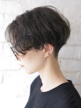 【+~ing】刈り上げ女子ハンサムショート【小川晏奈】