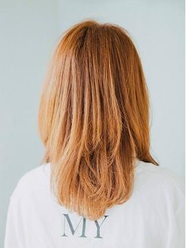 大人かわいい♪前髪♪ココアブラウン