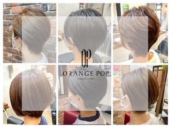 オレンジポップ 検見川浜南口店(ORANGE POP)(千葉県千葉市美浜区/美容室)