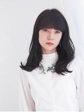 黒髪ロング×ゆる波カール.57