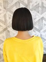 小顔ボブスタイル × ラベンダーアッシュ.54
