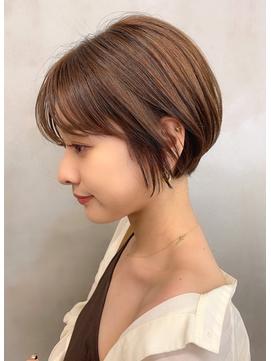 【Blanc/広島本通】マッシュボブ_ミニボブ_韓国マッシュa