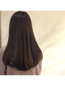 【大阪 京橋 FERIA】デザインカラー*サラツヤロング♪