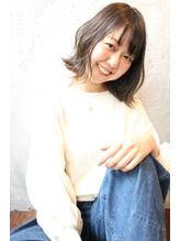 【uta*_girls】イルミナカラー×抜け感×くびれボブ.55
