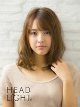 *Ursus hair Design*斜めバングミディアムウェーブ.47