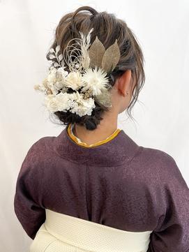 【MASAYA】和装スタイル×ヘアセット