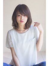 【Ramie寺尾拓巳】流しワイドバング×グレージュくびれミディ17' ボブ.27