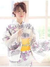 《Barretta/蒲田》☆浴衣着付け☆花火大会☆ゆるっとアレンジ☆ バレッタ.12
