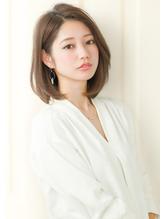 『rue京都』大人可愛い☆小顔ワンカール切りっぱなしボブ 50代.8