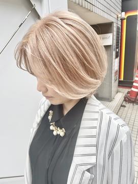 心斎橋/南船場ディア*夏に向けてのハイトーン★ホワイトブロンド