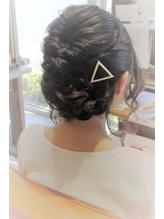 【結婚式・二次会】ルーズなねじりフルアップ.43