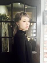 【カット+ハーブカラー+トリートメント¥8800】肌や瞳に合わせた似合わせカラー☆ダブルカラーもお任せ!!
