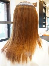 ヘアケアしながら憧れの美髪…♪ダメージ修復では無く、ダメージを与えない施術で最高のトリートメント*
