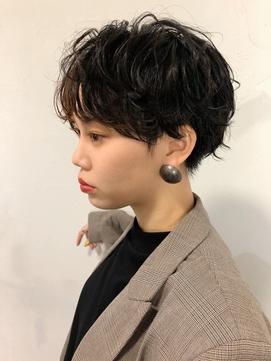 【Devellope.】千葉担当 ショート リアルパーマスタイル