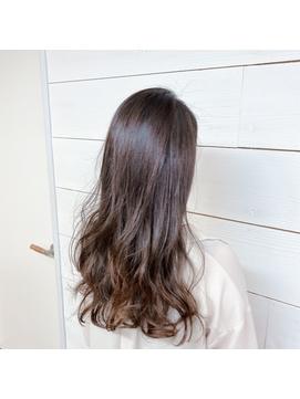 外国人風Sカール艶髪