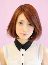 ★【ヘアカラー×ヘアカット】春に舞うフェアリーボブ with.35