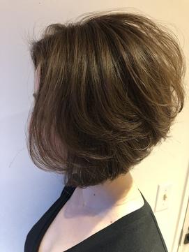 [OCEAN Hair&Life]大人のショートボブ×グレージュ☆