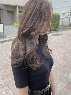 【famhair新小岩 岡野】大人可愛い韓国風ロングヘア