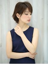 【K-two京都】大人可愛いナチュラル☆耳かけショートボブ.23