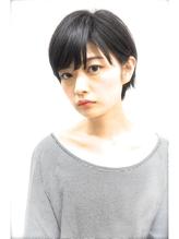 【PHASE・石田康博】黒髪でも可愛いくなるショートボブ!! .40