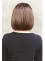 毛先までまとまるうる艶ボブスタイル
