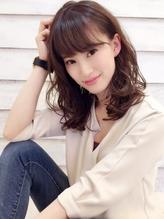 【comorebi 仙台】ナチュフェミ☆ゆるふわな大人可愛いモテ髪 モテ髪.30